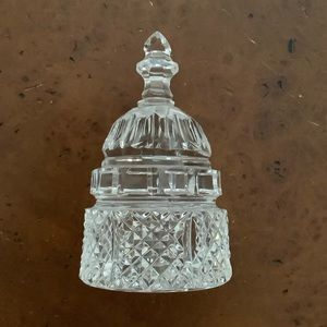 Waterford crystal Washington capital paperweight